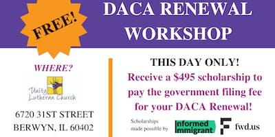 Free DACA Renewal Workshop