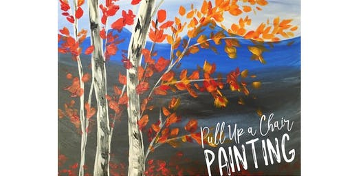 FALL TREES  paint class (all ages)