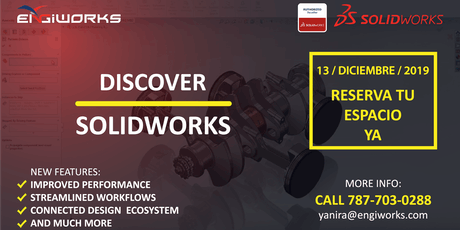Discover SOLIDWORKS tickets