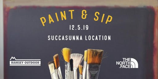 Paint and Sip at Ramsey Outdoor!