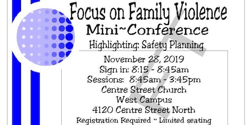 Focus on Family Violence Mini Conference