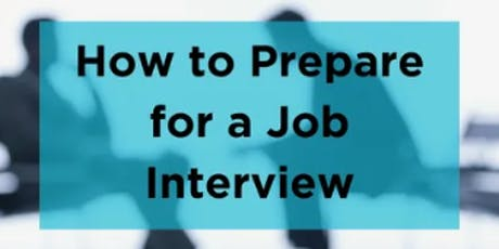 Get the Job! Interviewing skills to help you land your dream job tickets