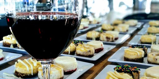 Wine and Cheesecake Pairing with The Cheesecake Girl