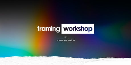 Framing workshop @CDMX entradas