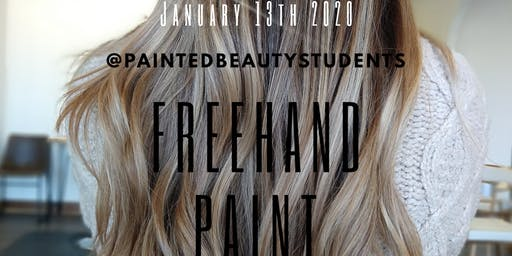 Free-Hand Painting with @PaintedByJulianna
