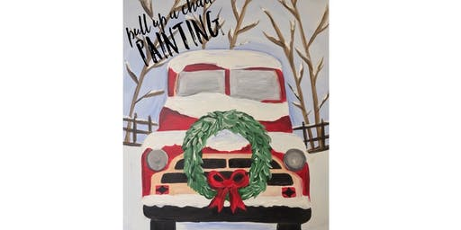 HOLIDAY TRUCK paint class (all ages)