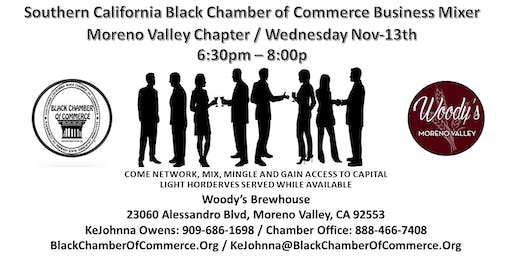 Moreno Valley SCBCC Chapter Business Mixer @ Woody's Brewhouse