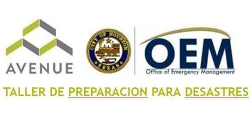 Taller de Preparacion para Desastres (ESPAÑOL)
