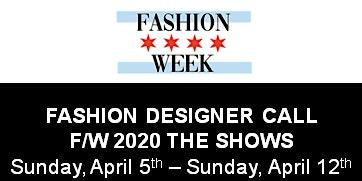 Fashion Designer FINAL Call for Chicago Fashion Week Powered by FashionBar