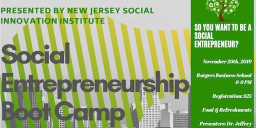 Social Entrepreneur Boot Camp: An Introductory Workshop