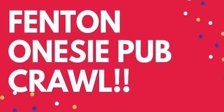 3rd Annual Fenton Onesie Pub Crawl tickets