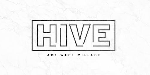 HIVE Art Week Village 2019