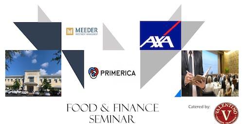 Primerica Food & Finance Seminar