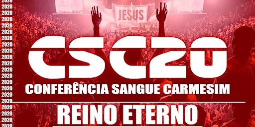 CONFERÊNCIA SANGUE CARMESIM - REINO ETERNO