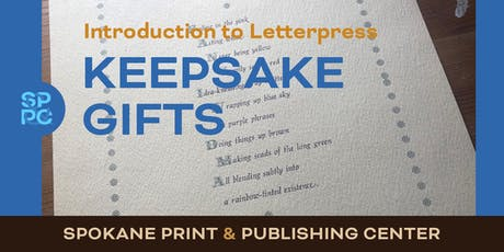 Intro to Letterpress: Holiday Keepsake Gifts tickets