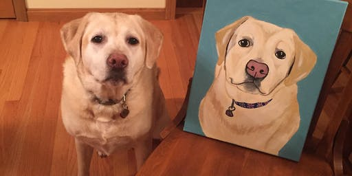 Paint Your Pet Fundraiser hosted by Dr. Jenna Emerson and Sarah Manuppelli