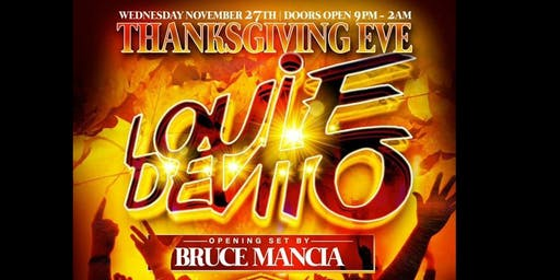 Thanksgiving Eve Party w Louie DeVito and Bruce Mancia