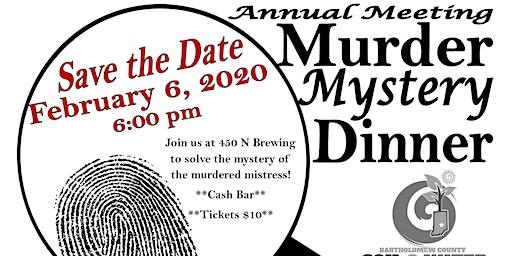 SWCD Annual Meeting (Bartholomew Co) Murder Mystery!