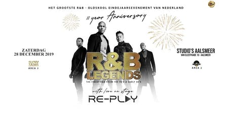 R&B LEGENDS - 11 YEAR ANNIVERSARY - LIVE ON STAGE RE-PLAY tickets