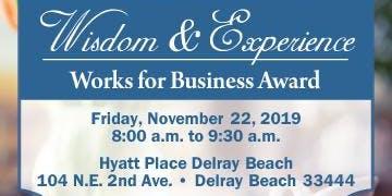 Wisdom & Experience Works for Business Award