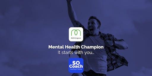 Mental Health Champion - Blakemere Village - Adult One Day