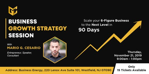 Business Growth Strategy Session