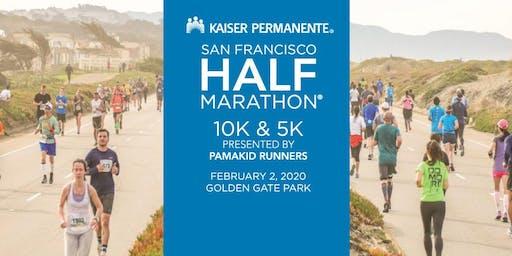 Volunteer Kaiser Permanente San Francisco Half Marathon - 10K - 5K