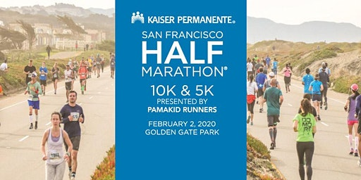 Volunteer Kaiser Permanente San Francisco Half Marathon - 10K - 5K