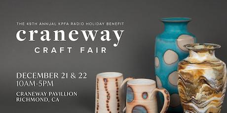 The Craneway Craft Fair tickets
