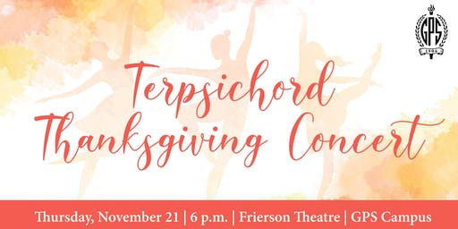 GPS Terpsichord | 2019 Thanksgiving Concert Preview