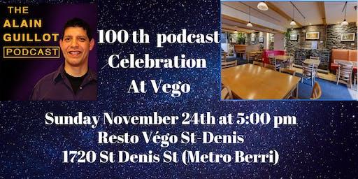 Celebration of 100th podcast episode