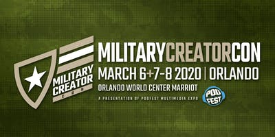 Military Creator *** on March 6th + Creator Pass 6,7 & 8th  Full Trade-show