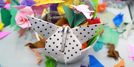 Atelier Origami Workshop: Papillon ailes battantes/Flapping Butterfly