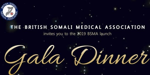 British Somali Medical Association Launch Gala Dinner