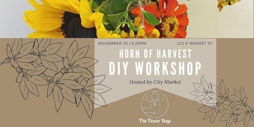 Thanksgiving Flower Arranging Workshop @ Indianapolis City Market