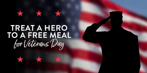 Military Eats Free Veterans Day at Firebirds Wood Fired Grill