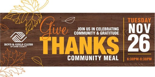 Give Thanks Community Meal