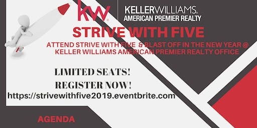 STRIVE WITH FIVE--Business Planning Event of the Year!!!
