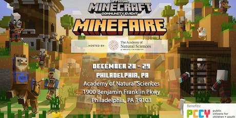 Minefaire at the Academy of Natural Sciences tickets