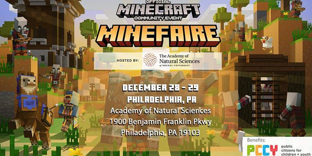 Image result for Minefaire at The Academy of Natural Sciences of Drexel University