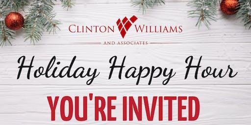 The Clinton Williams Team Happy Hour