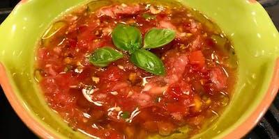 Cooking Demo- Lincoln Square - Bruscetta