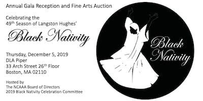 Annual Gala Reception and Fine Arts Auction Celebrating Black Nativity 2019