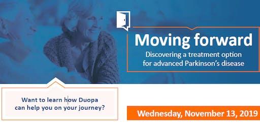 Duopa - A Treatment for Advanced Parkinson Disease  Presentation Nov 13