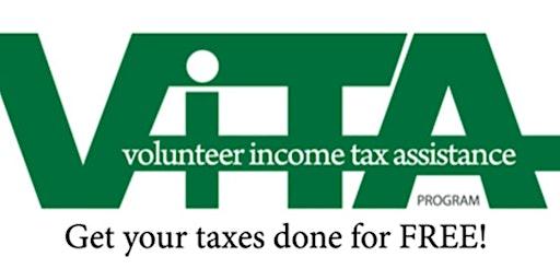 VITA Tax Prep Apr 14 Potomac Branch Library Call 301-375-7375 for Appt.