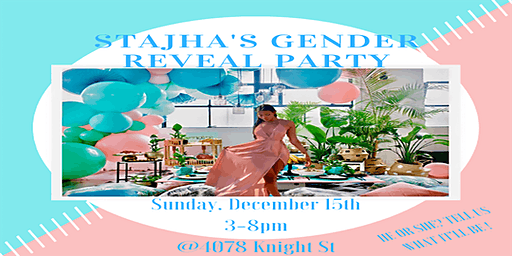 Stajha's Gender Reveal