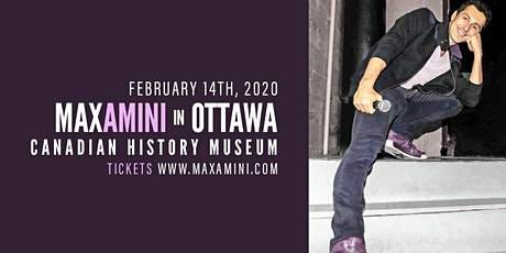 Max Amini Live in Ottawa - 2020 Tour tickets