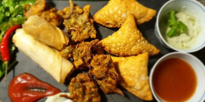 Indian Samosa, Pakora and Spring-Roll Workshop