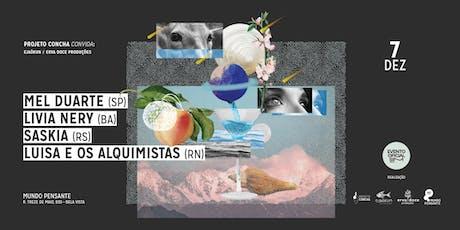 07/12 - SIM 2019 | NOITE PROJETO CONCHA NO MUNDO PENSANTE ingressos
