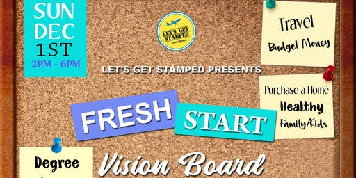 Fresh Start Vision Board Party